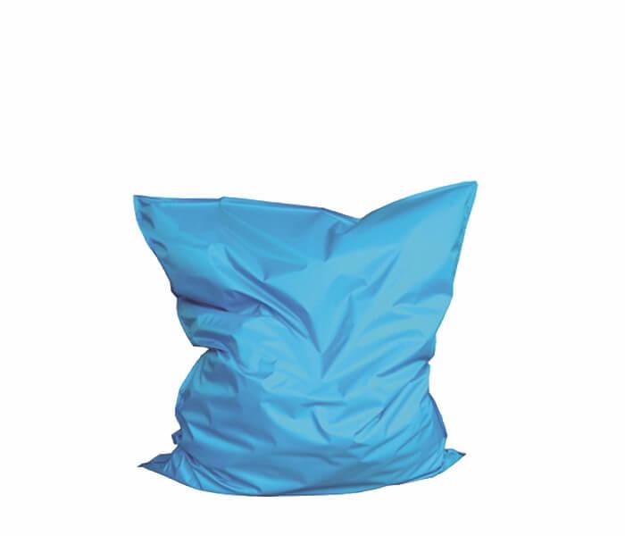 Aqua Blauwe Zitzak.Zitzak Latina Blauw Kaak Event Rent